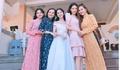 Giữa tin đồn sắp kết hôn với Trường Giang, Nhã Phương rạng ngời tại đám cưới em gái