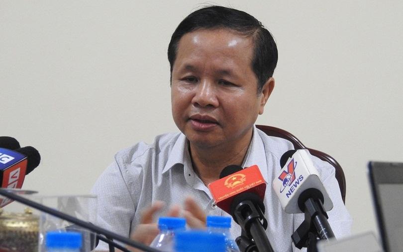 Giám đốc Sở GD&ĐT Hòa Bình từng nói không sai sót vì tin tưởng anh em, điểm thi
