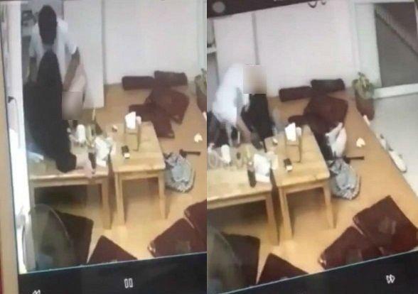 Nam thanh niên tung clip 'mây mưa' ở quán trà sữa xin lỗi