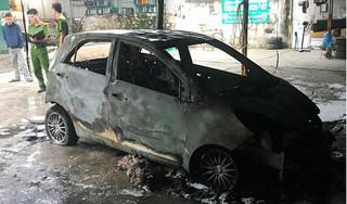 Hải Phòng: Truy tìm đối tượng đốt xe của Đại uý CSGT