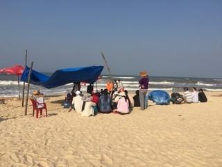 Hai du khách Phú Thọ đuối nước tử vong ở biển Nghệ An