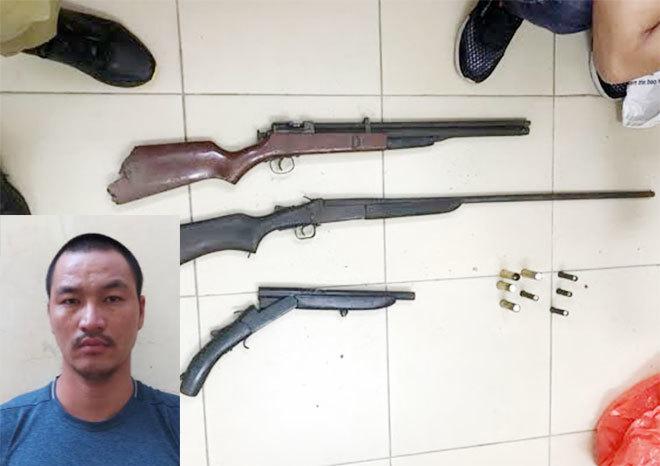 Phá băng nhóm trộm cắp 'cộm cán', găm súng trộm xe máy