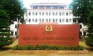 Các thủ khoa Học viện An ninh đều là thí sinh Hòa Bình, Lạng Sơn