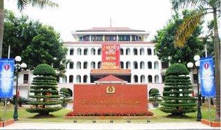 Lãnh đạo tỉnh Hòa Bình nói gì về 3 thí sinh điểm cao nhất Học viện an ninh?