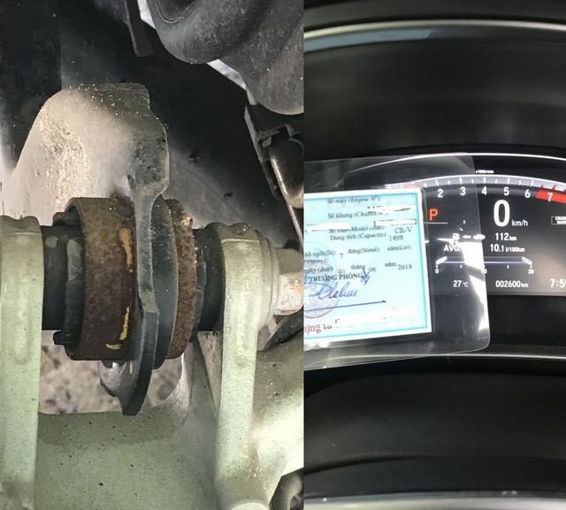 Honda CR-V 2018 bị khách hàng tố gỉ sét sau 2 tuần sử dụng