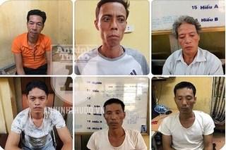 Bắt giữ băng nhóm chuyên trộm cắp gỗ sưa trên địa bàn Hà Nội