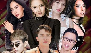 Minh Hằng, Hari Won, Nam Em đối đầu trong MV Top Hits