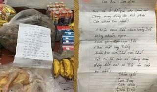 Bố mẹ chồng gửi đồ cho con dâu kèm cảnh cáo 'không được ăn của cháu tao'