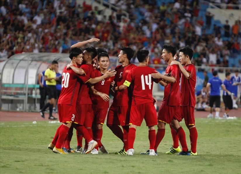 U23 Việt Nam sẽ nằm tại bảng D cùng U23 Nepal, U23 Pakistan và U23 Nhật Bản