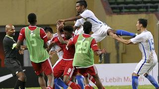 Giao hữu trước thềm ASIAD 2018, cầu thủ U23 Malaysia và U23 UAE ẩu đả nhau