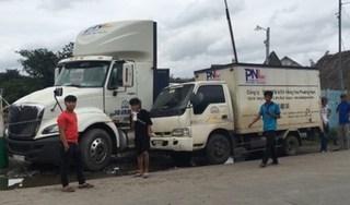 Container cán chết phụ xe 16 tuổi, phóng viên tác nghiệp bị đuổi đánh