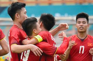 Kết quả trận đấu Olympic Việt Nam - Pakistan: Hàng công tỏa sáng, Việt Nam thắng đậm