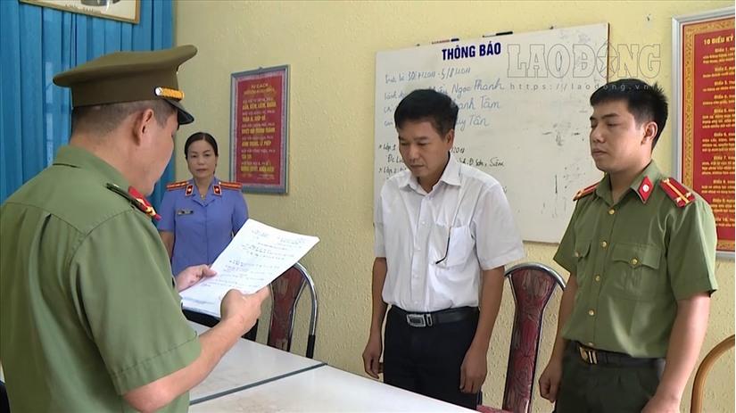 Gian lận điểm thi ở Sơn La: Xác định danh tính thí sinh bị sửa điểm