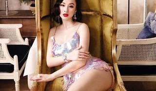 Hết khoe vòng 3 tròn 1 mét, Angela Phương Trinh lại lộ chân dài miên man