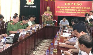 Họp báo thông tin chính thức xụ xả súng 2 người chết ở Điện Biên