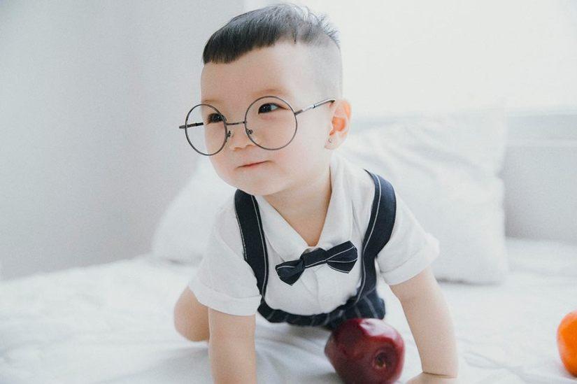 Hot girl dân tộc Thu Hương tung bộ ảnh cực đáng yêu của con trai5