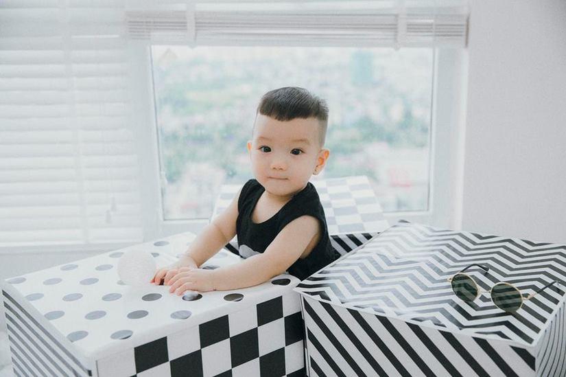 Hot girl dân tộc Thu Hương tung bộ ảnh cực đáng yêu của con trai13