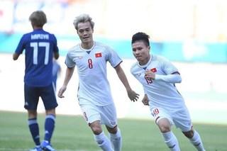 Quang Hải tỏa sáng, Olympic Việt Nam vượt qua Nhật Bản