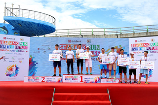 Giải chạy 'Seabank run for the future' gây quỹ cho trẻ em nghèo hiếu học