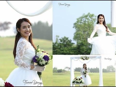 Nhã Phương xinh như thế nào khi mặc váy cưới?