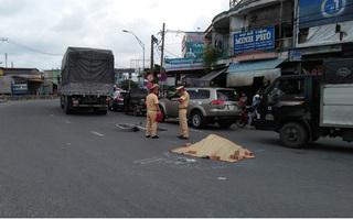 Người phụ nữ bán vé số tử vong thương tâm sau va chạm với xe tải