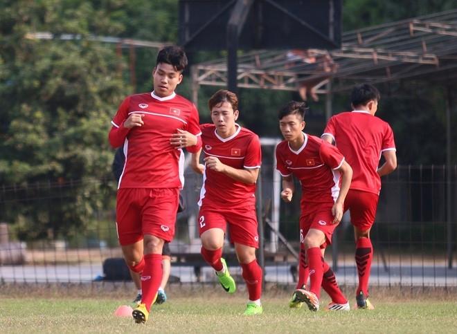 Olympic Việt Nam trận quyết đấu với Bahrain ở vòng 1/8 ASIAD 2018