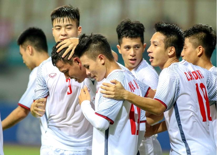 Olympic Việt Nam góp mặt tại vòng 1/8 ASIAD 2018.
