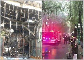 Hàng chục thi thể biến dạng trong vụ cháy khách sạn ở Trung Quốc