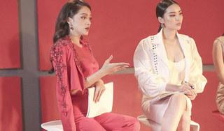 Hoa hậu Hương Giang bị chê ăn nói thô tục trên sóng truyền hình