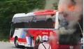 Đà Nẵng: Xe du lịch bốc cháy ngùn ngụt, hàng chục du khách tháo chạy