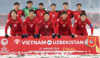 Lương Xuân Trường và U23 Việt Nam cùng tranh giải VTV Awards 2018