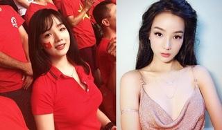 Lộ danh tính nữ CĐV được săn đón khi xuất hiện trên truyền hình Hàn Quốc