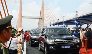 Chính thức thông xe tuyến cao tốc Hạ Long - Hải Phòng và cầu Bạch Đằng