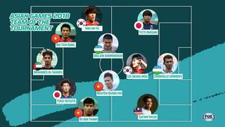 Tranh cãi về cầu thủ Olympic Việt Nam trong đội hình tiêu biểu ASIAD 18