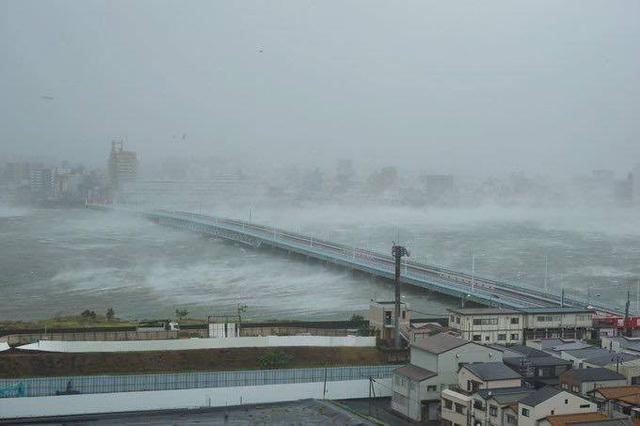 Siêu bão Jebi mang đến thảm họa chưa từng có cho Nhật Bản