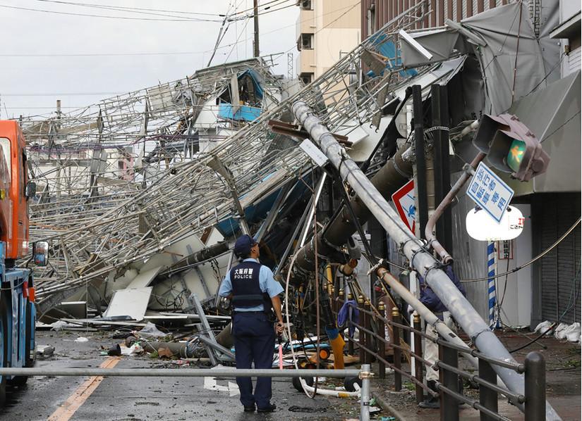 Siêu bão Jebi tại Nhật Bản, Siêu bão Jebi