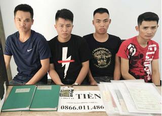 Bắt nhóm người từ Hải Phòng vào Đà Nẵng chuyên cho vay nặng lãi