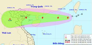 Siêu bão Mangkhut chưa vào, biển Đông đã phải đón cơn bão số 5