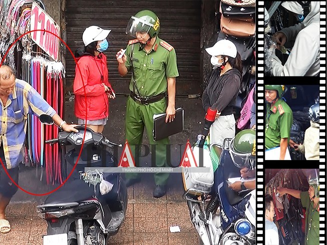Điều tra vụ Cảnh sát trật tự-Cơ động nghi làm luật tại chợ Bà Chiểu