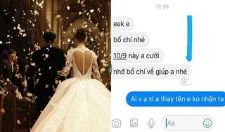 Chăm bình luận 'dạo' trên Facebook, chàng trai bất ngờ được mời ăn cưới