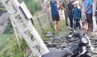Tông xe máy vào cột điện bên đường, nam thanh niên tử vong tại chỗ