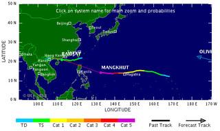 Siêu bão Mangkhut giật cấp 17, ầm ầm tiến vào khu vực Biển Đông