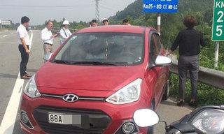 Nữ tài xế lái xe ngược chiều trên cao tốc Nội Bài - Lào Cai bị phạt nặng