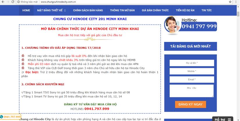 Dự án Hinode City Minh Khai thế chấp ngân hàng khách hàng thận trọng 5