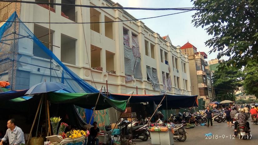 Công ty CP Thực phẩm Hà Nội làm hỏng nhà dân 1