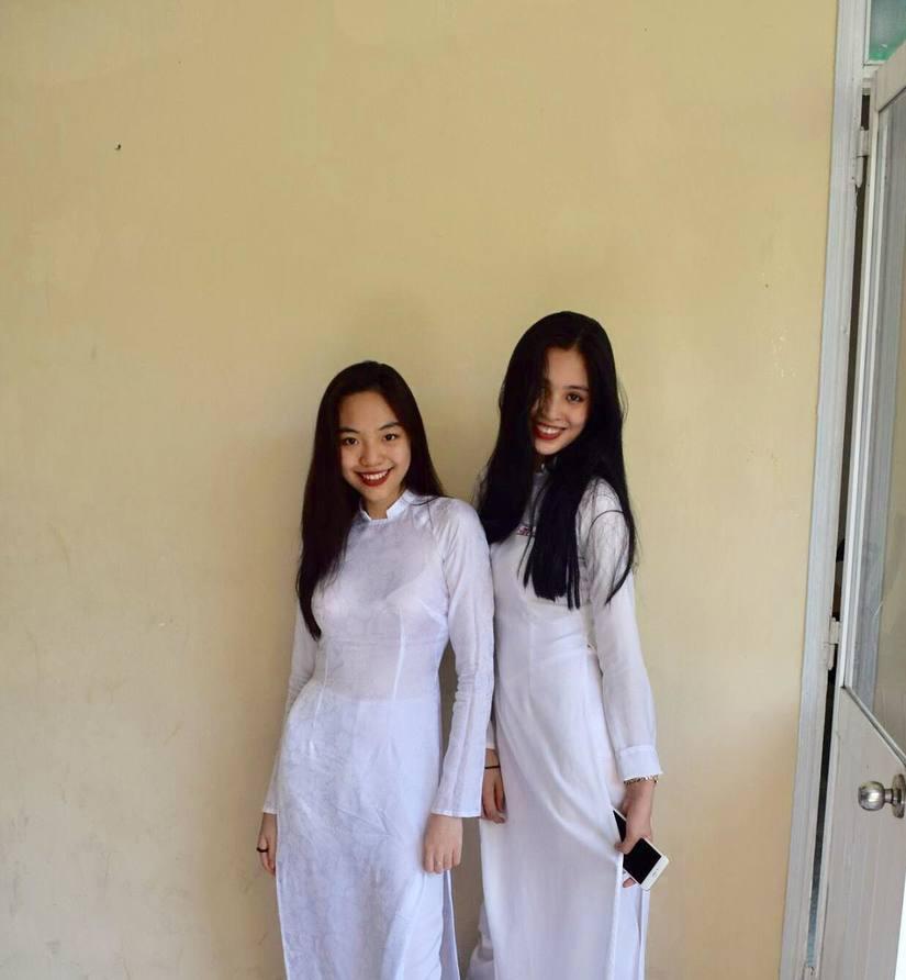 Ảnh tân Hoa hậu Tiểu Vy trong trang phục học sinh đốn tim dân mạng9