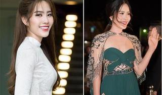 Nam Em gây bất ngờ tại thảm đỏ Hoa hậu Việt Nam 2018 với cằm ngấn mỡ, ba vòng phát phì