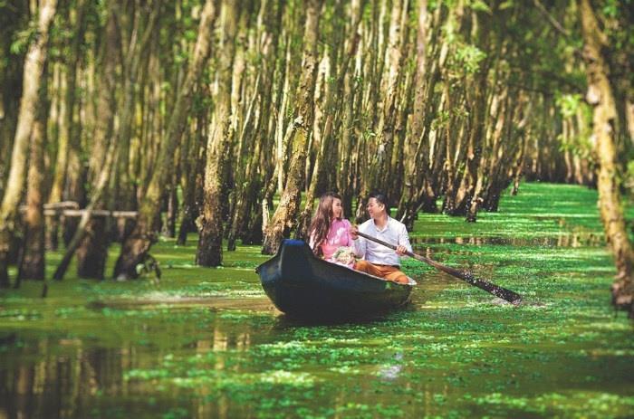 Ghé Đồng bằng sông Cửu Long hòa mình vào thiên nhiên mùa nước nổi