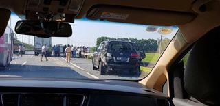 Nguyên nhân tài xế Lexus LX570 tử vong khi đang làm việc với CSGT