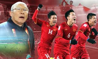 Đội tuyển Việt Nam đón tin vui trước thềm AFF Cup 2018